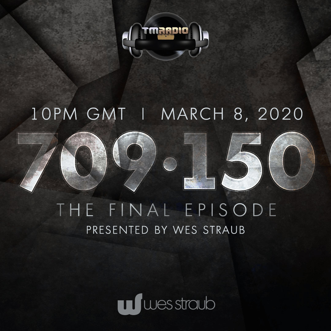 709Sessions :: Episode 150, FINAL SHOW EPISODE (aired on March 8th, 2020) banner logo