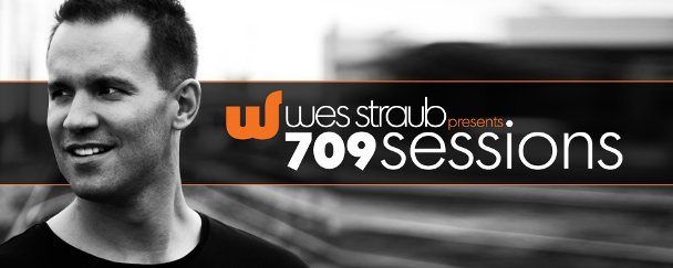 709Sessions :: Wes Straub - Opening Set for Vibrasphere (aired on April 12th, 2009) banner logo