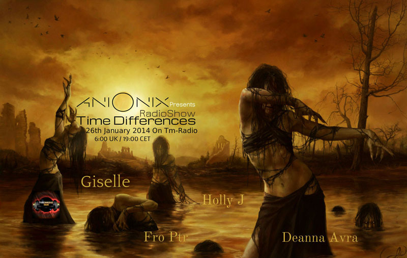 Time Differences :: Episode 114, Hosted By Ani Onix (aired on January 26th, 2014) banner logo
