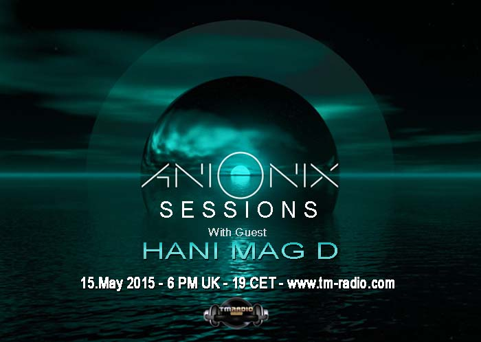 Ani Onix Sessions :: Ep 06 (aired on May 15th, 2015) banner logo