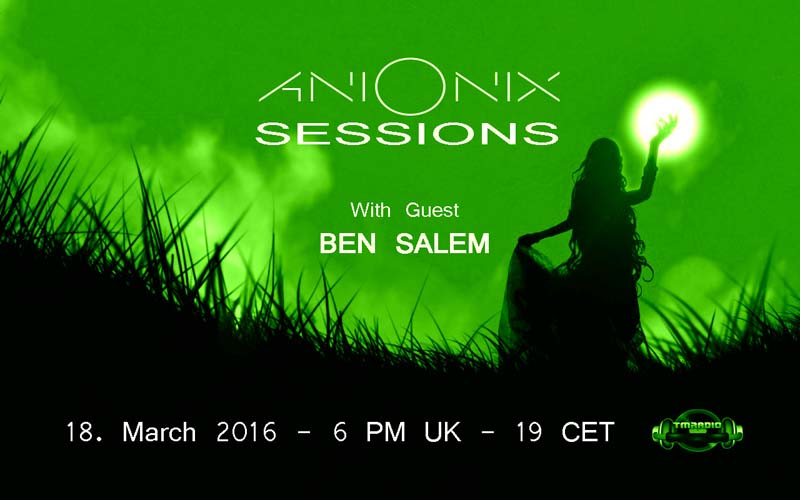 Ani Onix Sessions :: Episode aired on March 18, 2016, 6pm banner logo
