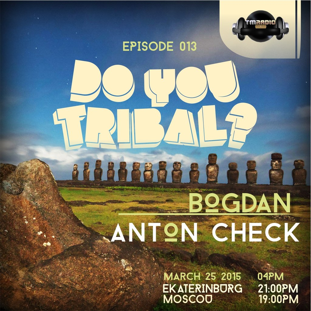 DO YOU TRIBAL? :: Episode aired on March 25, 2015, 4pm banner logo