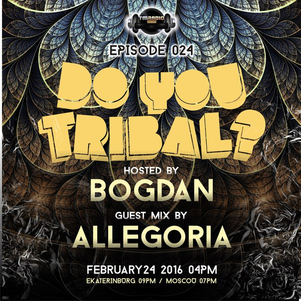 DO YOU TRIBAL? :: Episode aired on February 24, 2016, 4pm banner logo