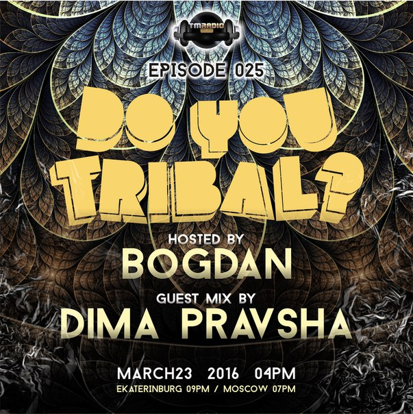 DO YOU TRIBAL? :: Episode aired on March 23, 2016, 4pm banner logo