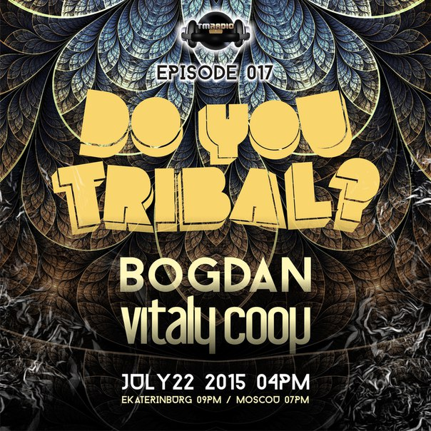 DO YOU TRIBAL? :: Episode aired on July 22, 2015, 4pm banner logo