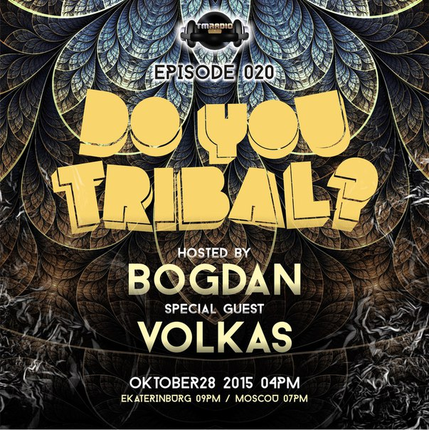 DO YOU TRIBAL? :: Episode aired on October 28, 2015, 4pm banner logo