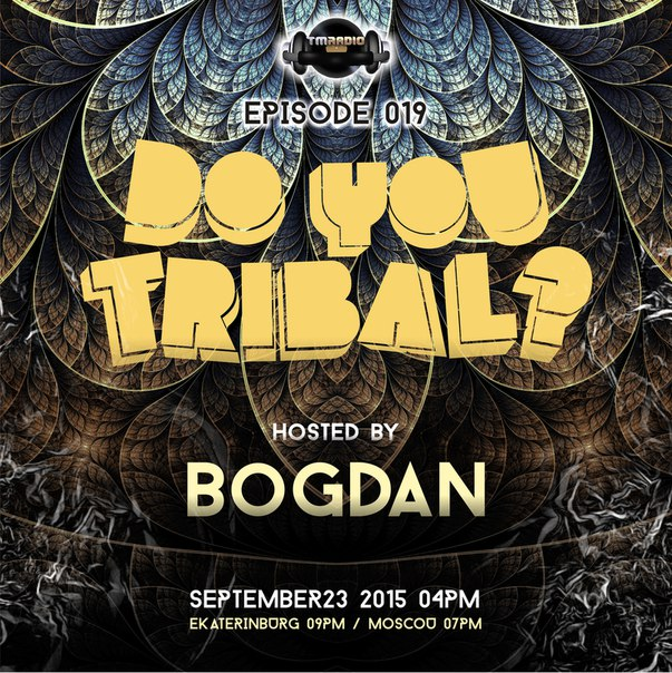 DO YOU TRIBAL? :: Episode aired on September 23, 2015, 4pm banner logo