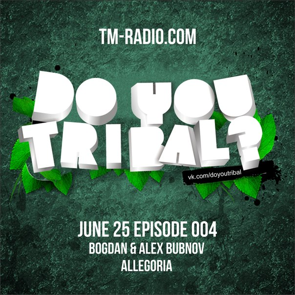 DO YOU TRIBAL? :: Episode aired on June 25, 2014, 4pm banner logo