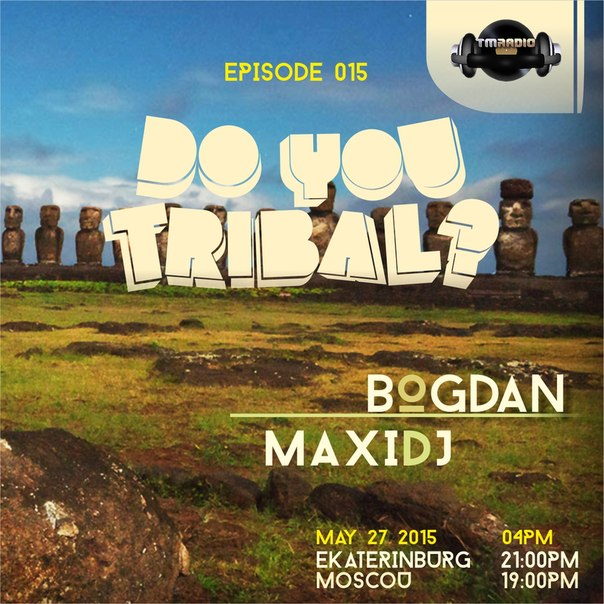 DO YOU TRIBAL? :: Episode aired on May 27, 2015, 4pm banner logo