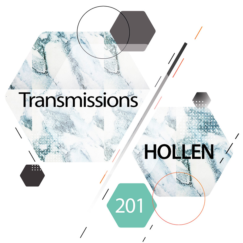 Transmissions :: Episode 201, guest mix Hollen (aired on October 24th, 2017) banner logo