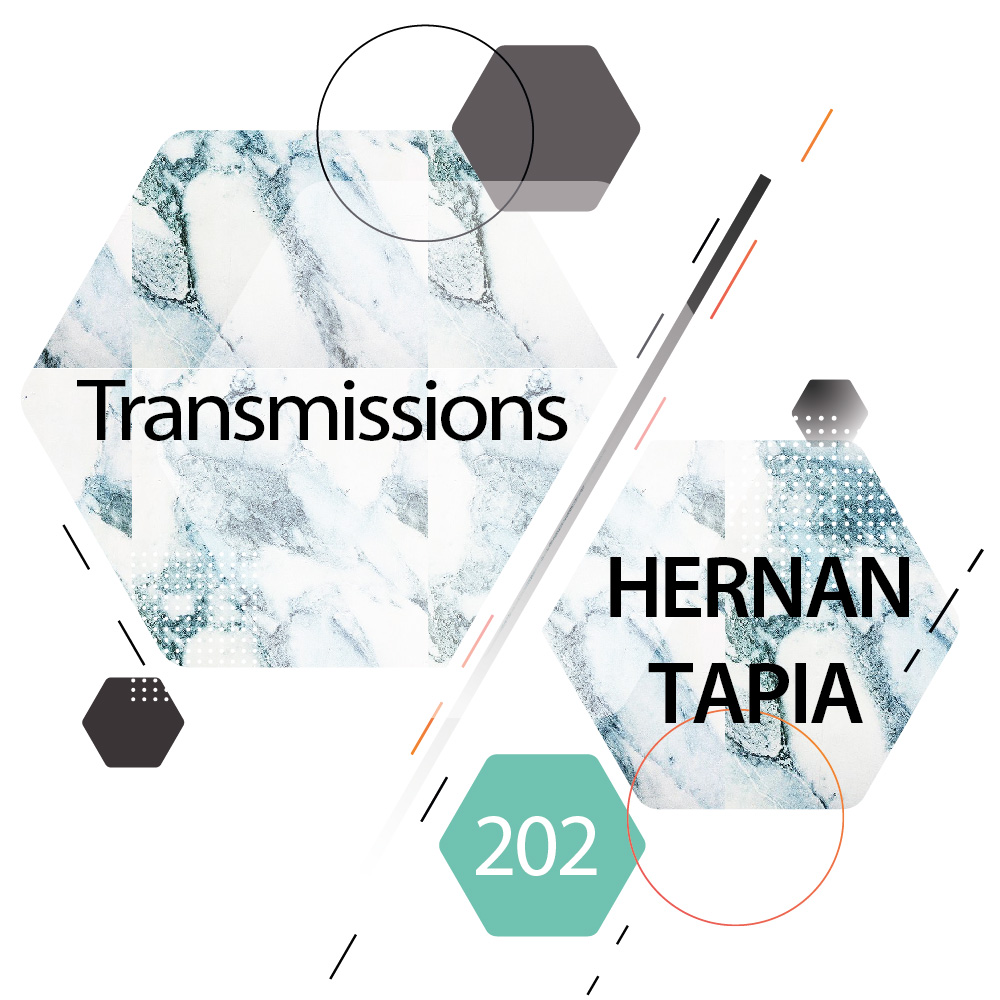 Transmissions :: Episode 202, guest mix Hernan Tapia (aired on October 31st, 2017) banner logo