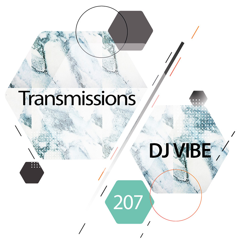 Transmissions :: Episode 207, guest mix DJ Vibe (aired on December 5th, 2017) banner logo