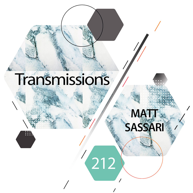 Transmissions :: Episode 212, guest mix Matt Sassari (aired on January 9th, 2018) banner logo