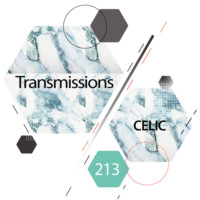 Transmissions :: Episode 213, guest mix Celic (aired on January 16th, 2018) banner logo