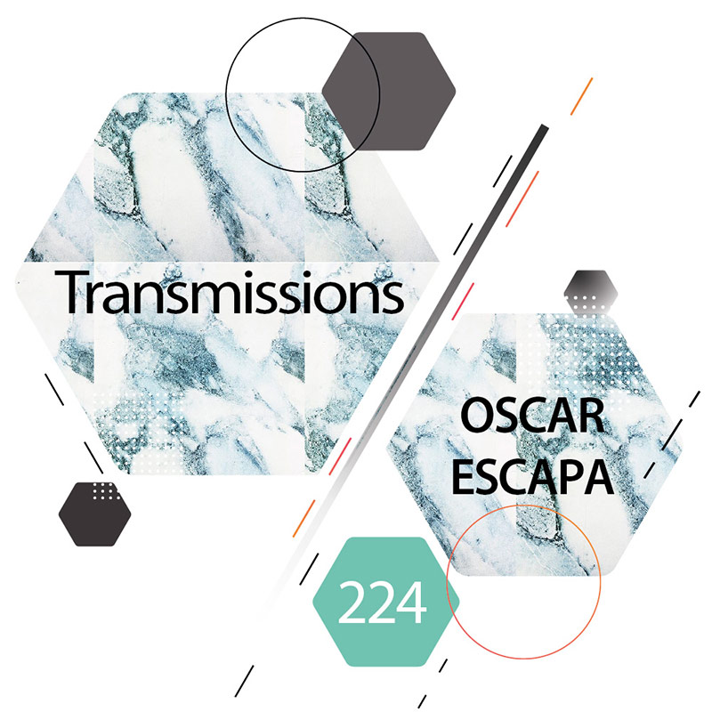 Transmissions :: Episode 224, guest mix Oscar Escapa (aired on April 3rd, 2018) banner logo