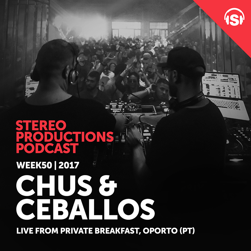 Stereo Productions Podcast :: Episode 227, live at Private Breakfast, Oporto, Portugal (aired on December 15th, 2017) banner logo