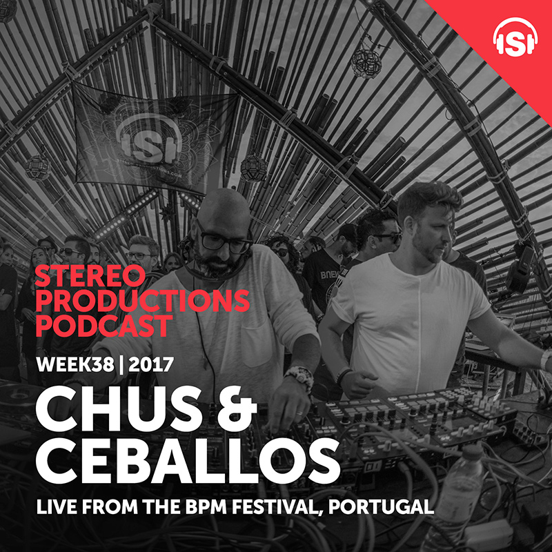 Stereo Productions Podcast :: Episode 215, live at BPM Portugal 2017 (aired on September 22nd, 2017) banner logo