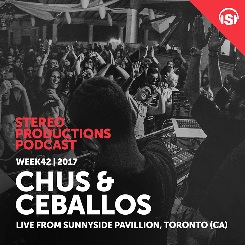 Stereo Productions Podcast :: Episode 219, hosted by Chus & Ceballos (aired on October 20th, 2017) banner logo