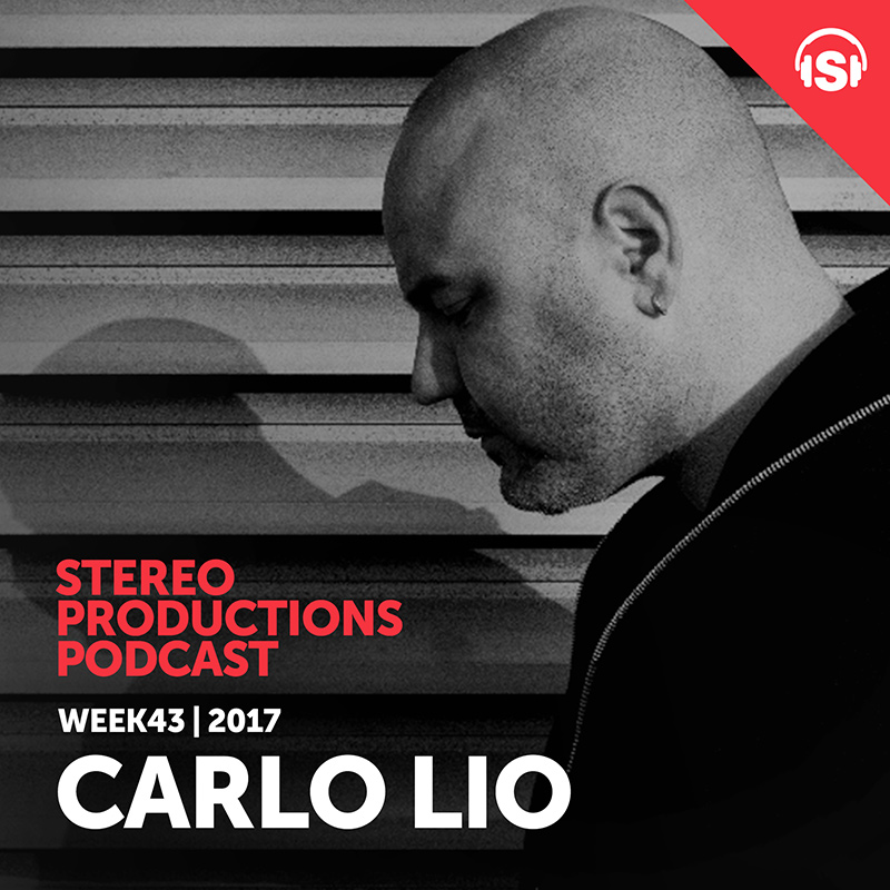 Stereo Productions Podcast :: Episode 220, guest mix Carlo Lio (aired on October 27th, 2017) banner logo
