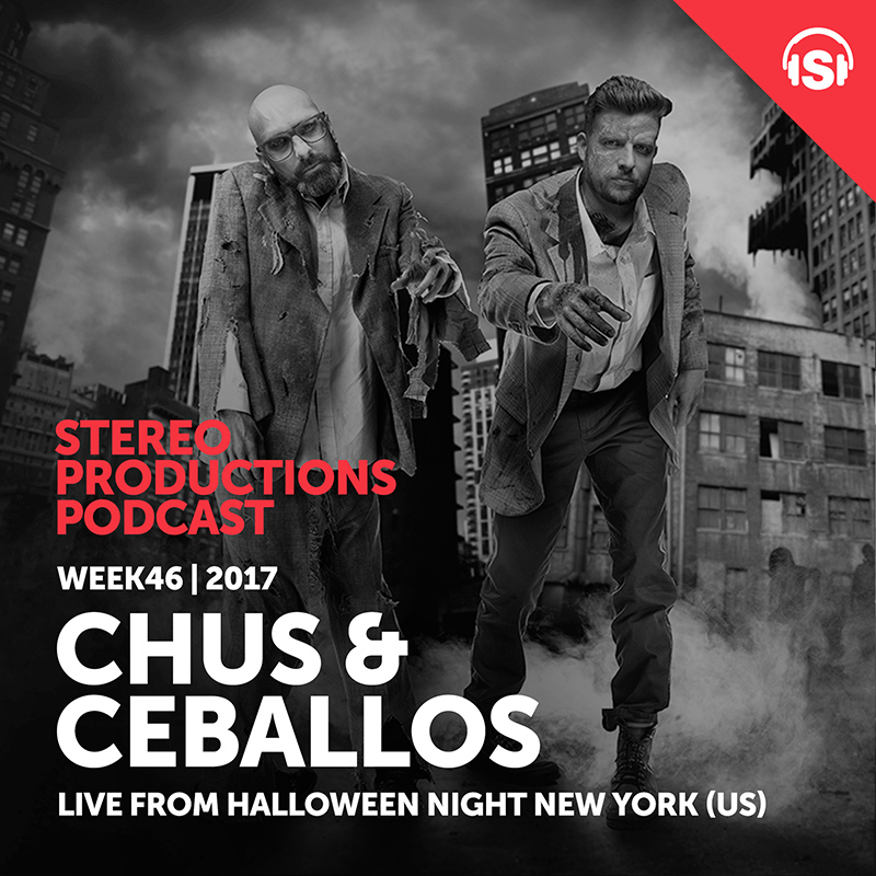 Stereo Productions Podcast :: Episode 223, live at Halloween Night, NYC (aired on November 17th, 2017) banner logo