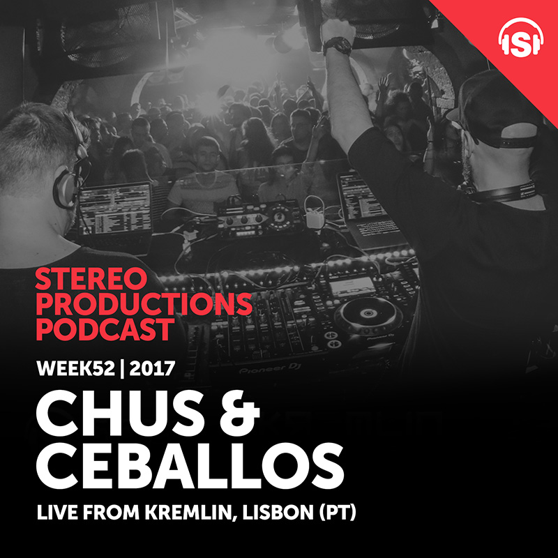 Stereo Productions Podcast :: Episode 229, live from Kremlin, Lisbon, Portugal (aired on December 29th, 2017) banner logo