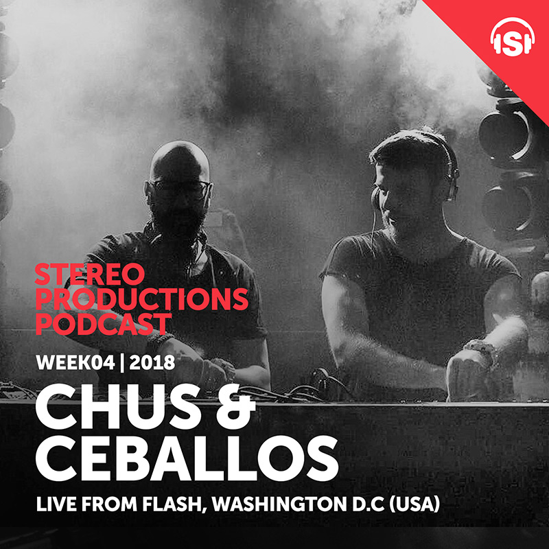 Stereo Productions Podcast :: Episode 233, live at Flash, Washington DC (aired on January 26th, 2018) banner logo