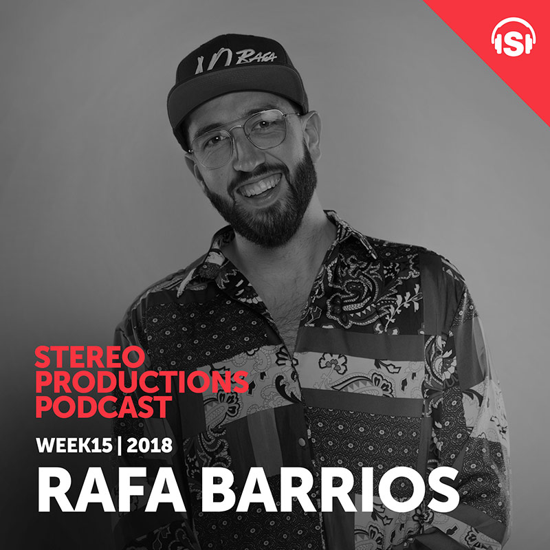 Stereo Productions Podcast :: Episode 244, guest mix Rafa Barrios (aired on April 13th, 2018) banner logo