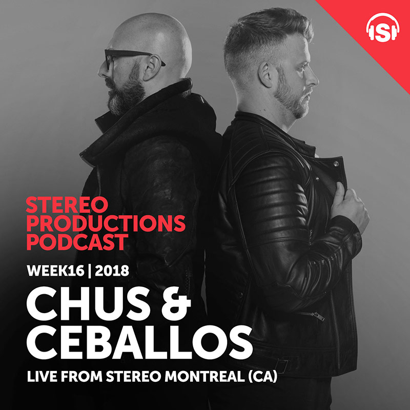 Stereo Productions Podcast :: Episode 245, Live from Stereo Montreal (CA) (aired on April 20th, 2018) banner logo