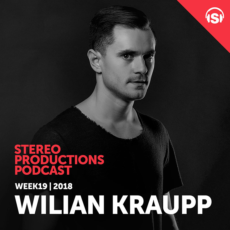 Stereo Productions Podcast :: Episode 248, guest mix Wilian Kraupp (aired on May 11th, 2018) banner logo