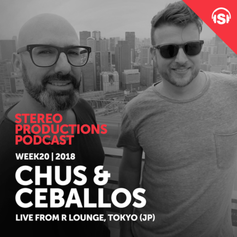 Stereo Productions Podcast :: Episode 249, live at R Lounge (Tokyo) (aired on May 18th, 2018) banner logo