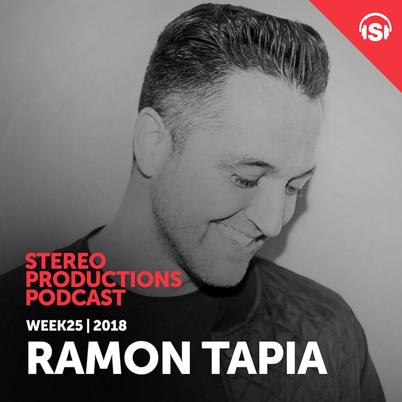 Stereo Productions Podcast :: Episode 254, guest mix Ramon Tapia (aired on June 22nd, 2018) banner logo