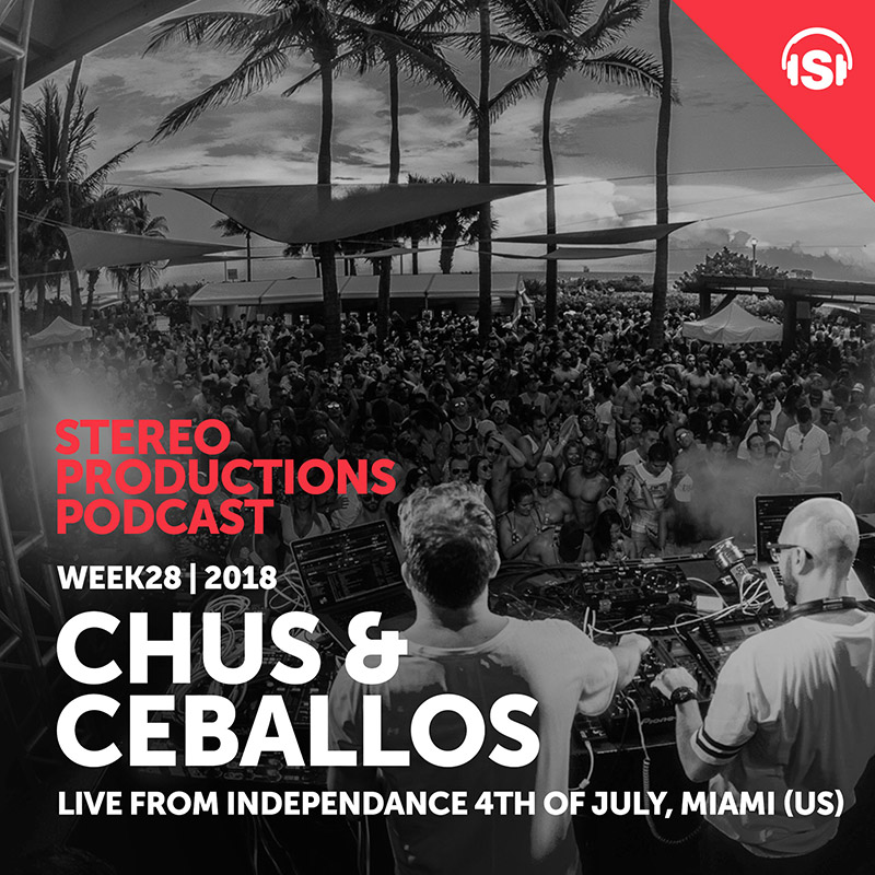 Stereo Productions Podcast :: Episode 257, live from Independence Day Miami (aired on July 13th, 2018) banner logo