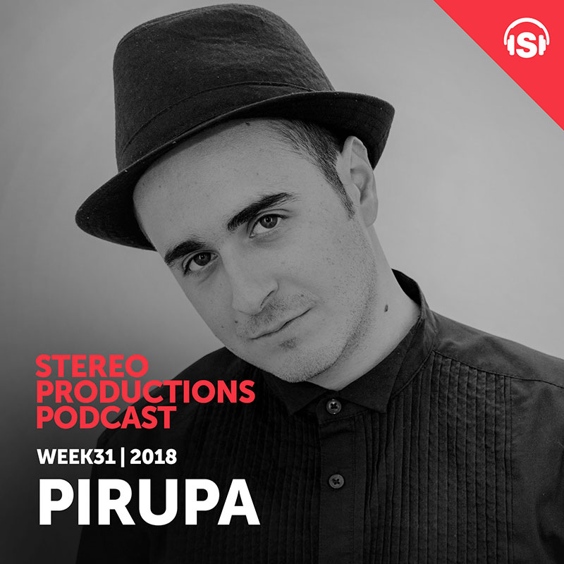 Stereo Productions Podcast :: Episode 260, guest mix Pirupa (aired on August 3rd, 2018) banner logo