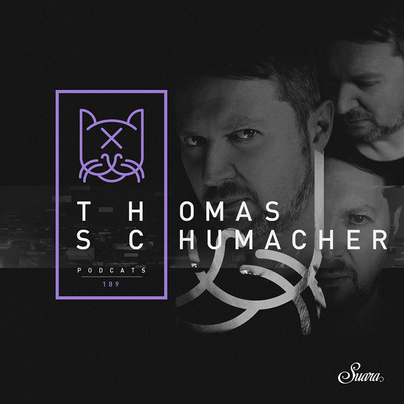 Suara PodCats :: Episode 189, guest Thomas Schumacher (aired on September 21st, 2017) banner logo