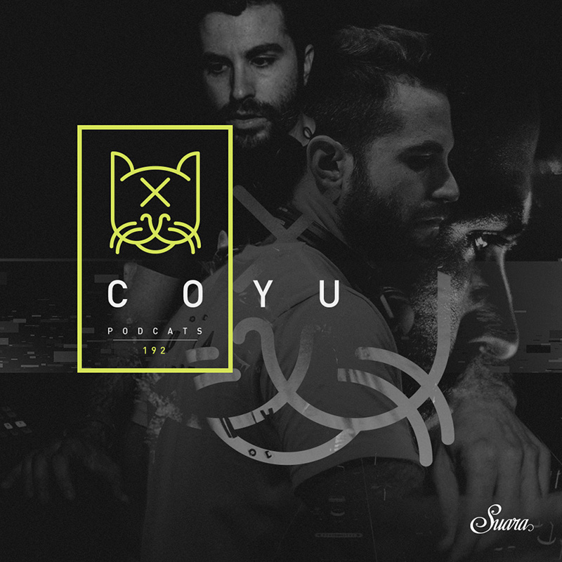 Suara PodCats :: Episode 192, hosted by Coyu (aired on October 16th, 2017) banner logo