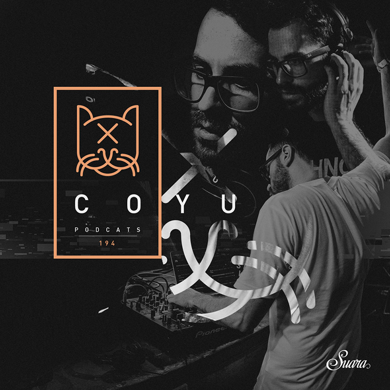 Suara PodCats :: Episode 194, live at El Baile (Mendoza) - 3 hour set (aired on November 9th, 2017) banner logo