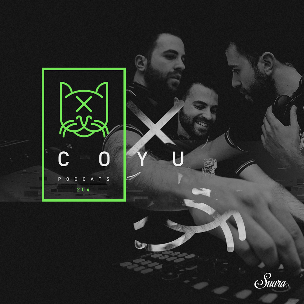 Suara PodCats :: Episode 204, live at City at Night, Ottawa (aired on January 18th, 2018) banner logo