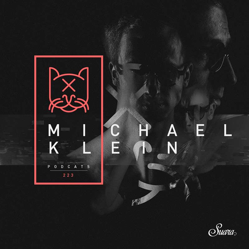 Suara PodCats :: Episode 223, guest mix Michael Klein (aired on May 31st, 2018) banner logo