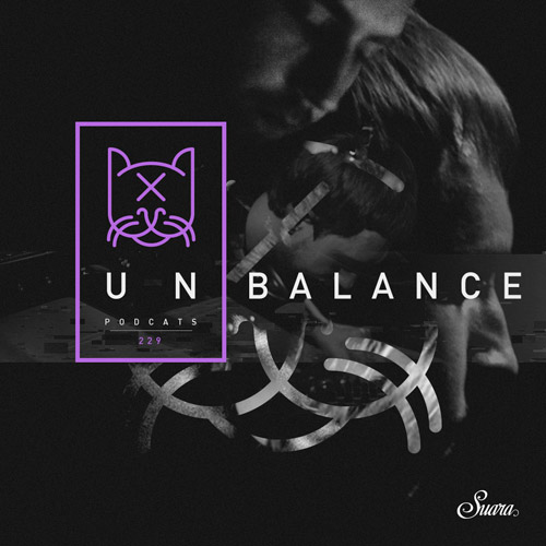 Suara PodCats :: Episode 229, guest mix Unbalance (aired on July 12th, 2018) banner logo