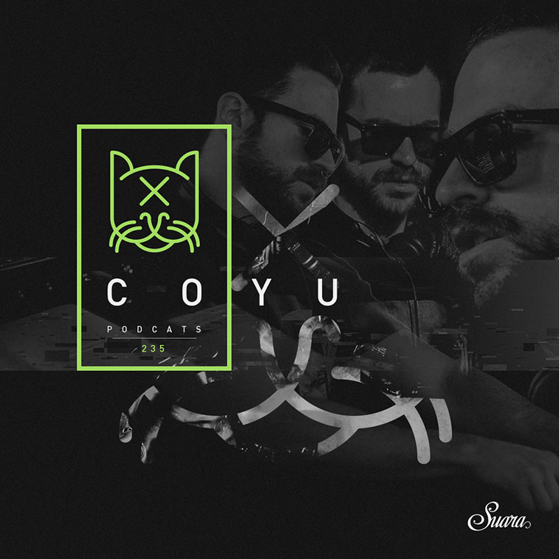 Suara PodCats :: Episode 235 (aired on August 23rd, 2018) banner logo