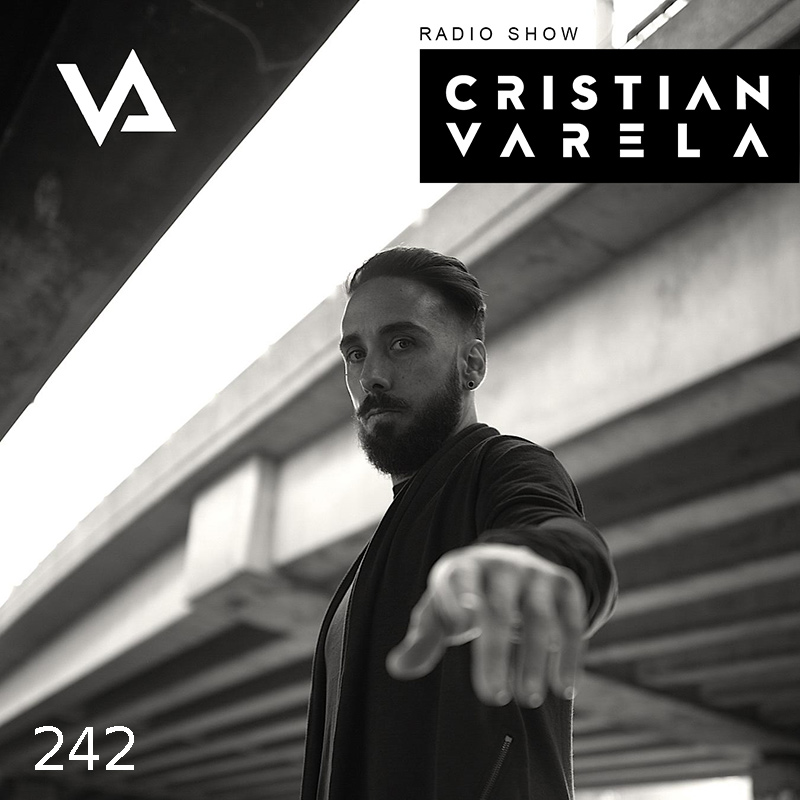 Cristian Varela Radio Show :: Episode 242, guest mix Felix Krocher, Anti Slam Weapon (aired on December 21st, 2017) banner logo