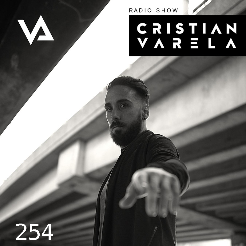 Cristian Varela Radio Show :: Episode 254, guest mix Jeff Rushin (aired on March 15th, 2018) banner logo
