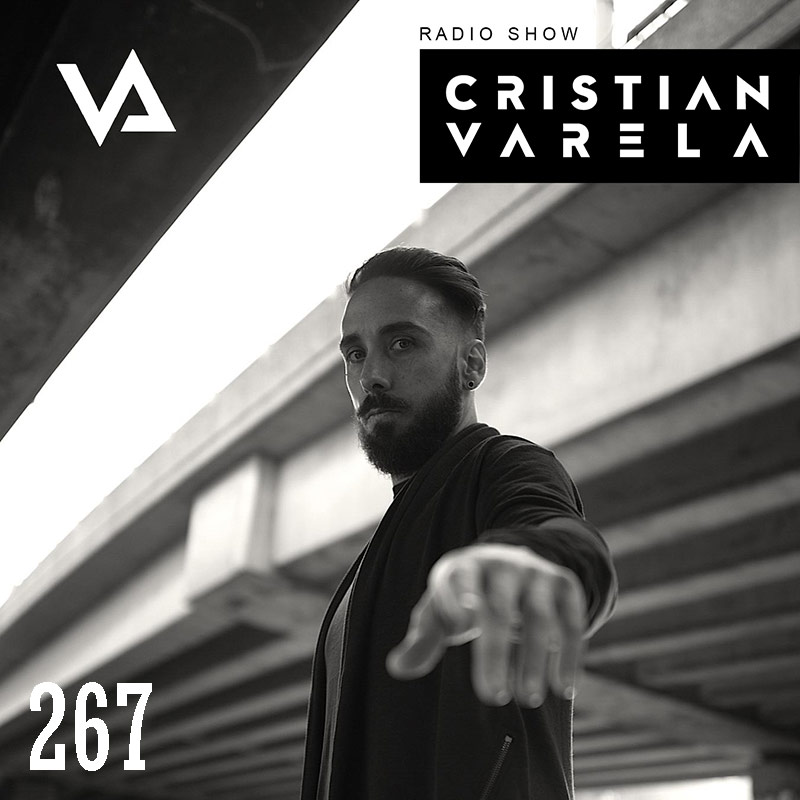 Cristian Varela Radio Show :: Episode 267, live @ Split + Level1 by Ian Axide (aired on June 14th, 2018) banner logo
