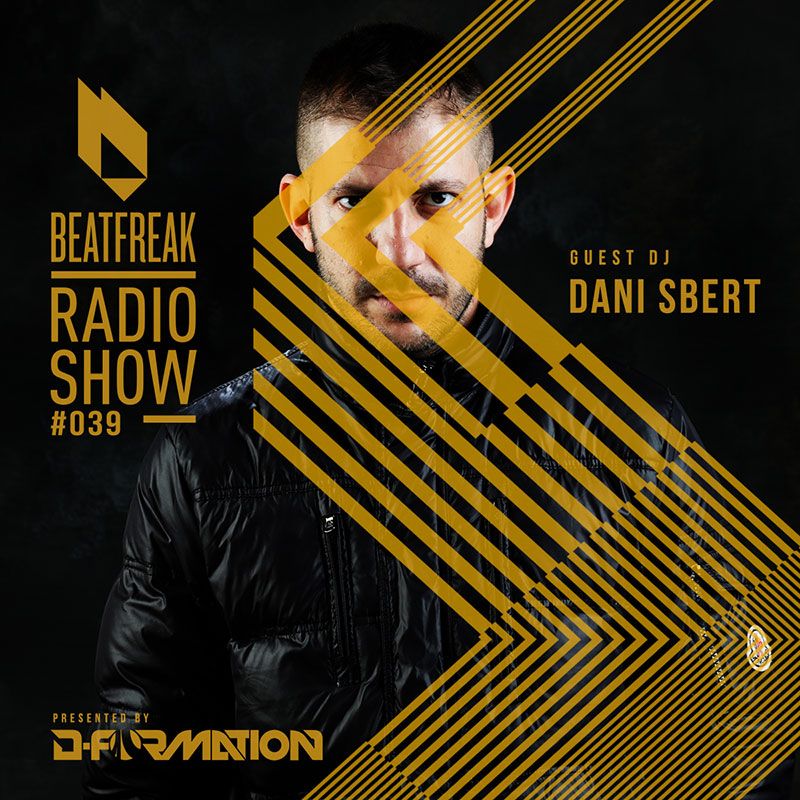 Beatfreak Radio Show :: Episode 039, with Dani Sbert (aired on February 10th, 2018) banner logo