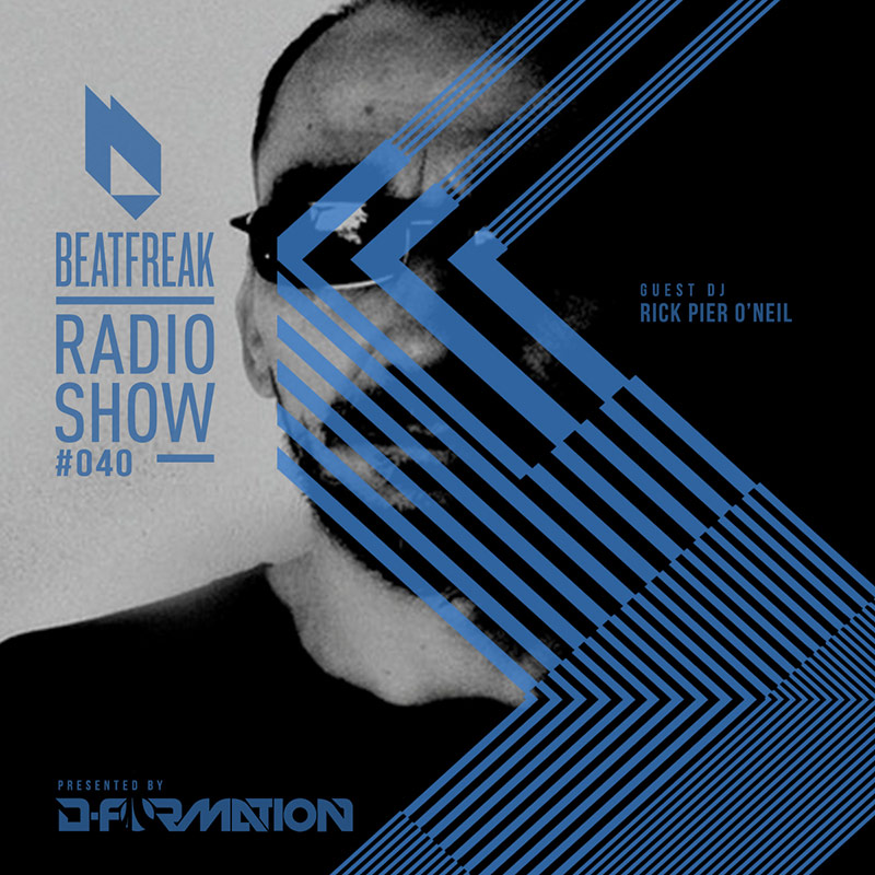 Beatfreak Radio Show :: Episode 040, with Rick Pier O'Neil (RPO) (aired on February 17th, 2018) banner logo