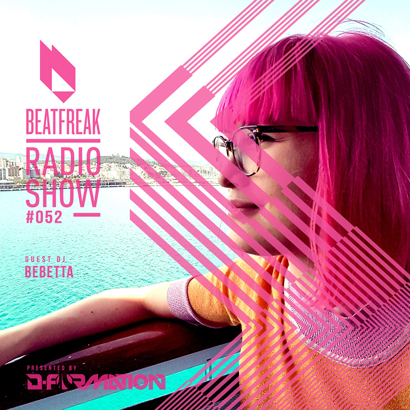 Beatfreak Radio Show :: Episode 052, with Bebeta (aired on May 12th, 2018) banner logo