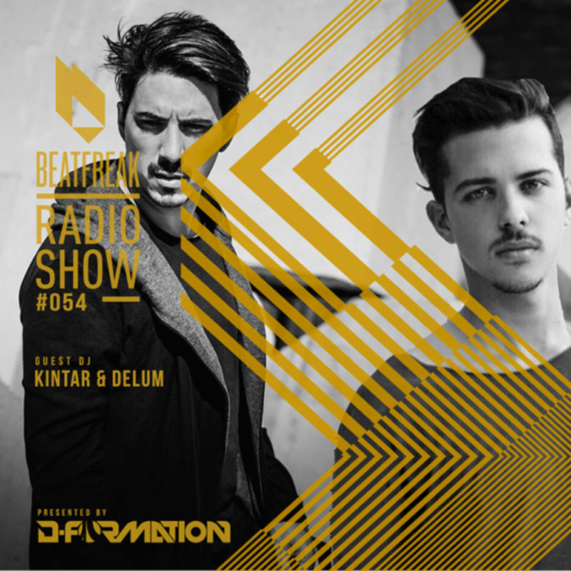 Beatfreak Radio Show :: Episode 054, with Kintar & Delum (aired on May 26th, 2018) banner logo