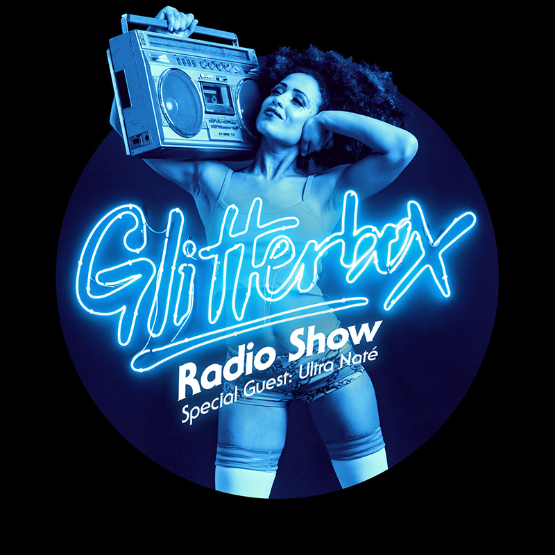Glitterbox :: Episode 034, hosted by Ultra Nate (aired on November 22nd, 2017) banner logo