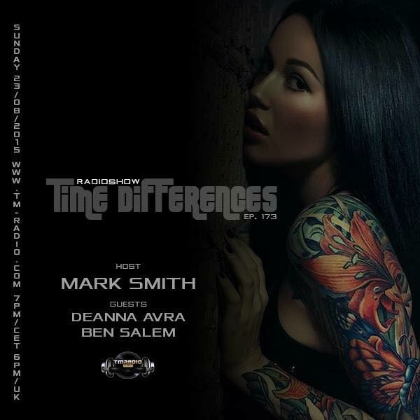 Time Differences :: Episode 173, hosted by Mark Smith (aired on August 23rd, 2015) banner logo