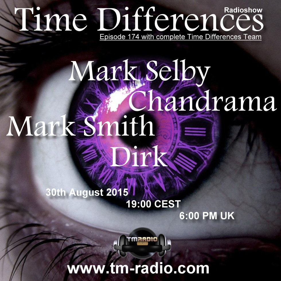 Time Differences :: Episode 174, with all hosts (aired on August 30th, 2015) banner logo